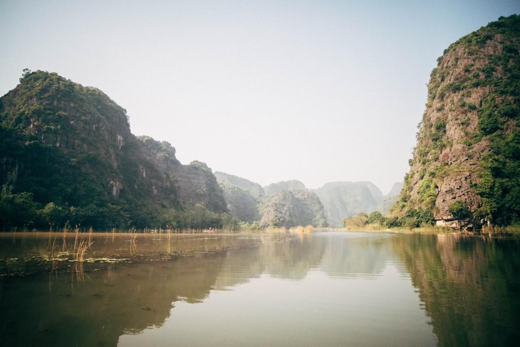 Die gar nicht mal so trockene Halong-Bucht
