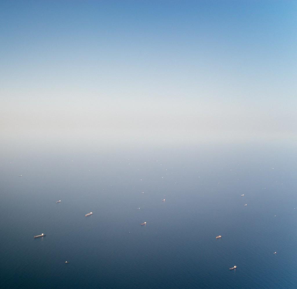 Schiffe vor Dubai